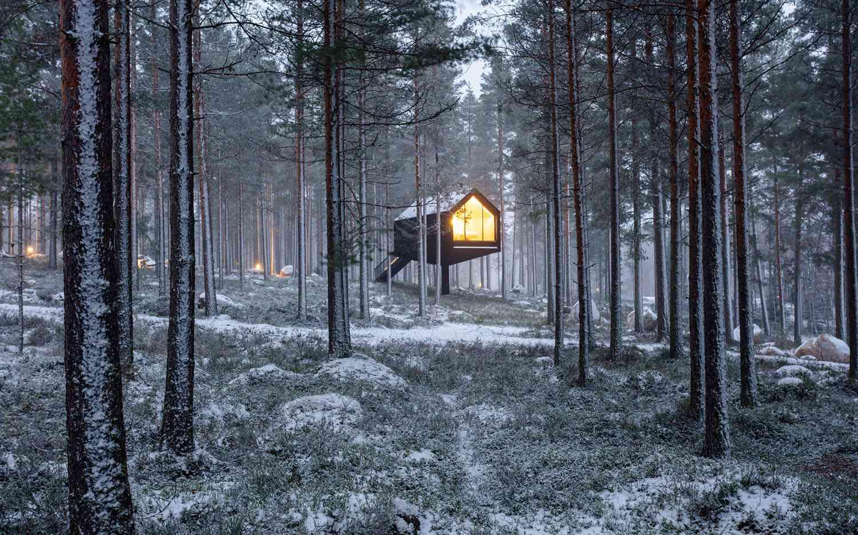 Niliaitta cabin by Studio Puisto exterior