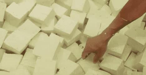 how tofu is made photo