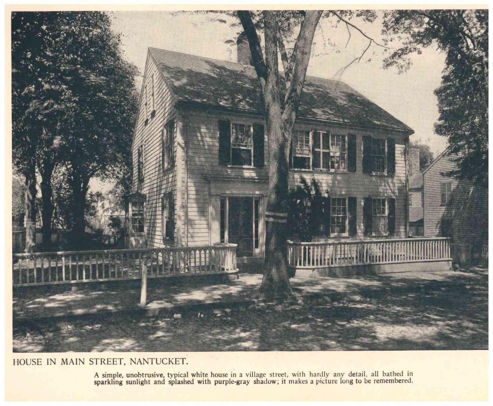 House on Main Street, Nantucket