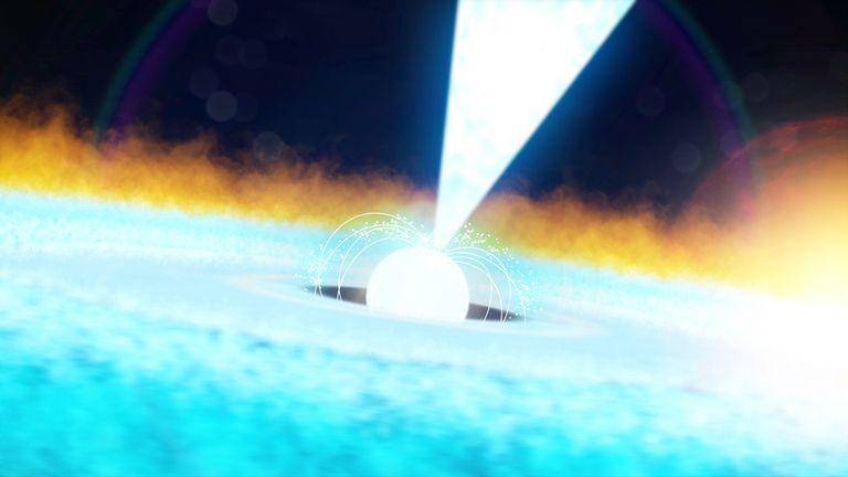 Los científicos detectan una explosión termonuclear masiva desde el espacio exterior
