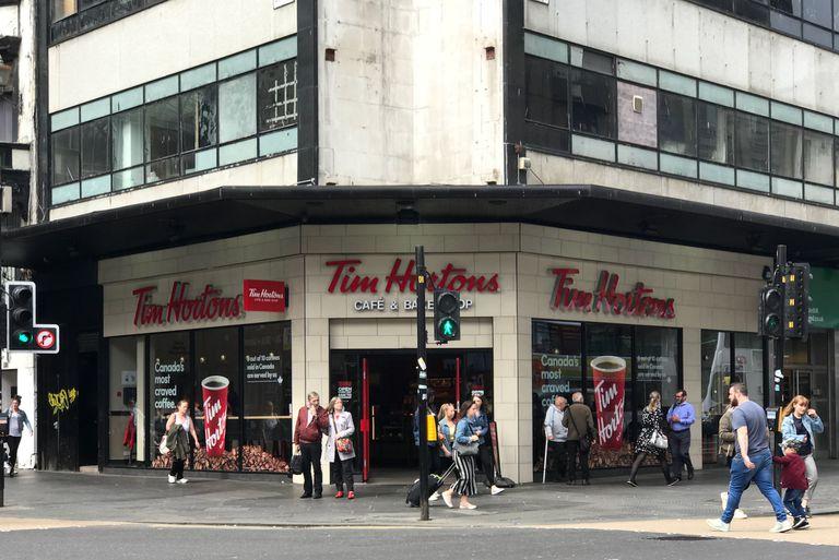 Tim Hortons in Glasgow