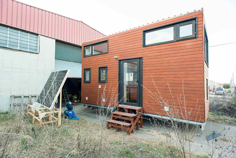 idle tiny house exterior