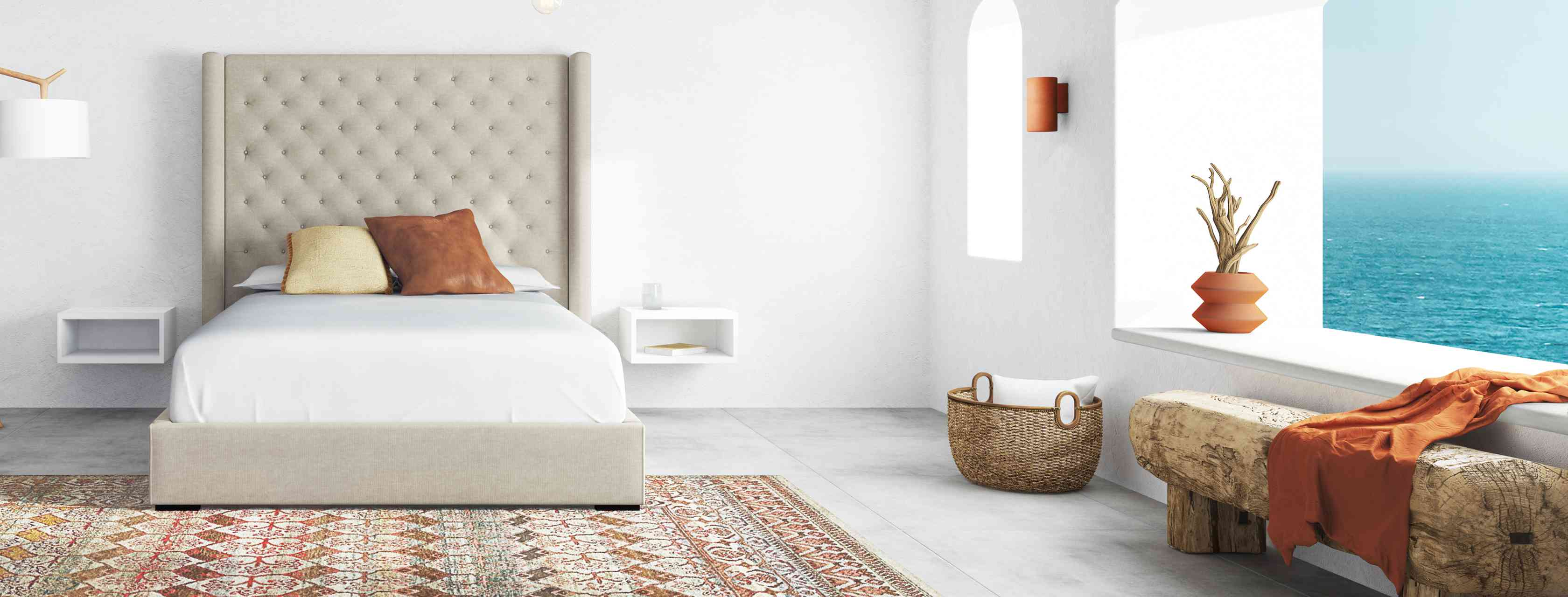 Saatva Amalfi Bed Frame