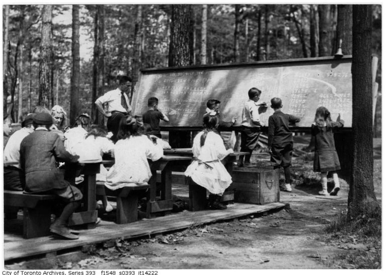 Forest School in Toronto