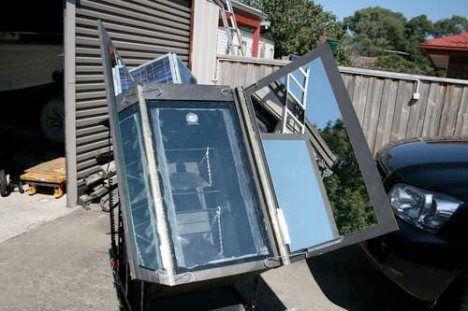 solar oven photo