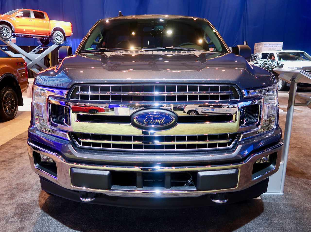 Ford Grille with mirror