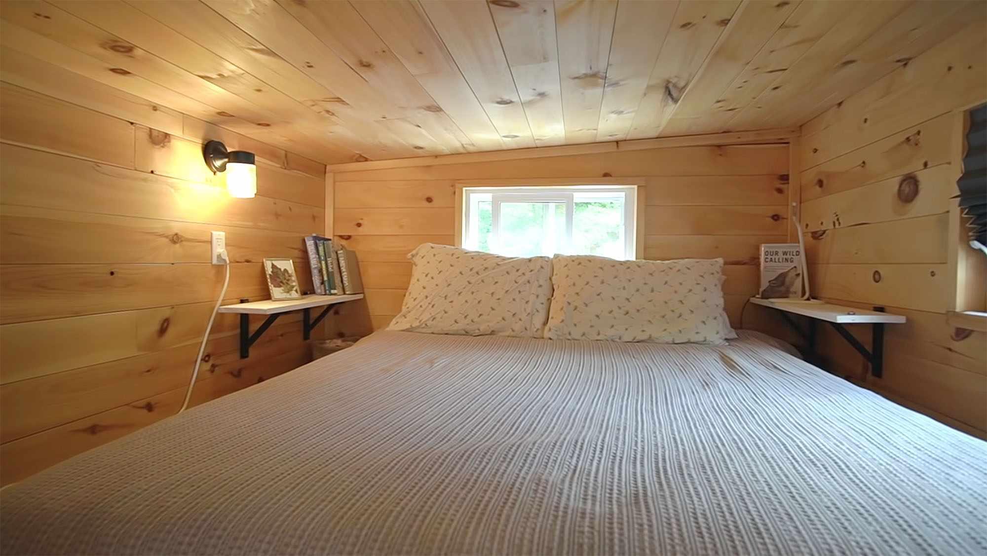 Giving Tree Family tiny house master sleeping loft