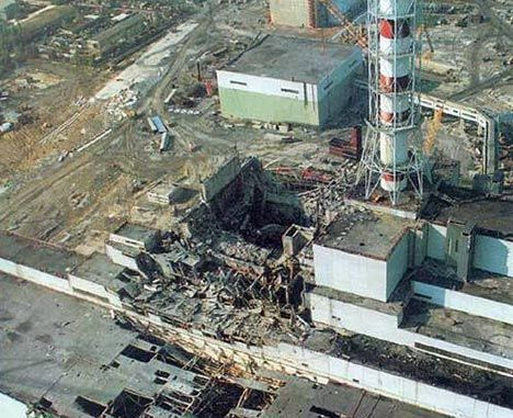 chernobyl nuclear reactor photo