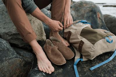Raum shoes closeup