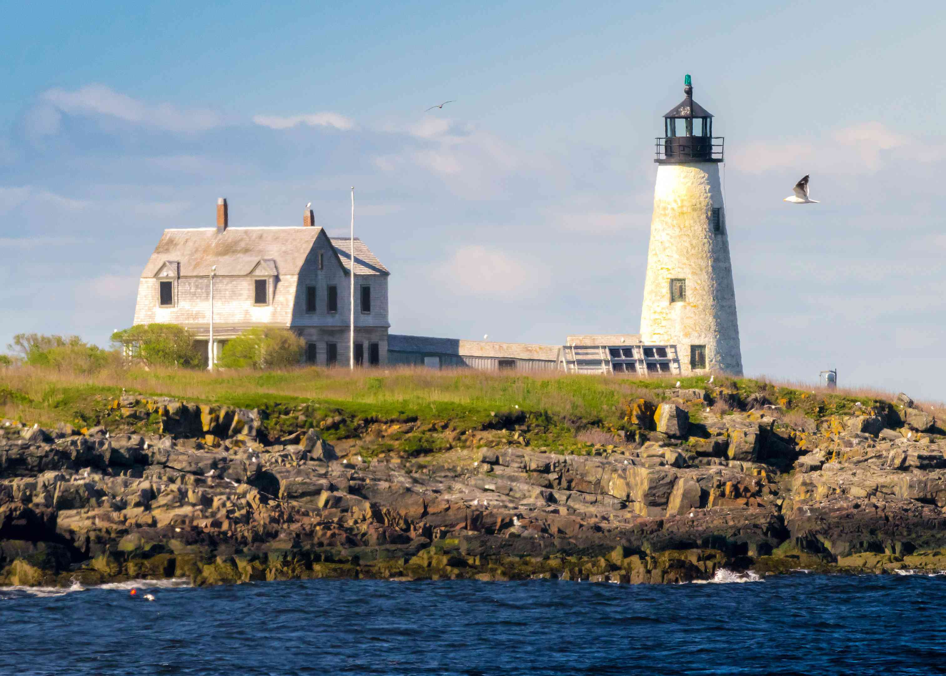 Wood Island Lighthouse, Biddeford Maine