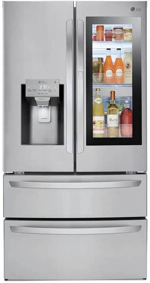 LG LMXS28596S 28 cu. ft. Smart wi-fi Enabled InstaView™ Door-in-Door® Refrigerator