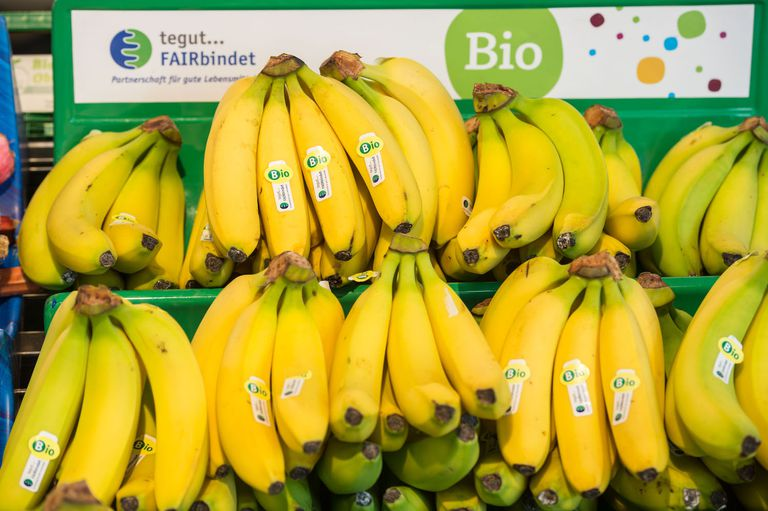 Bio bananas for sale in Germany
