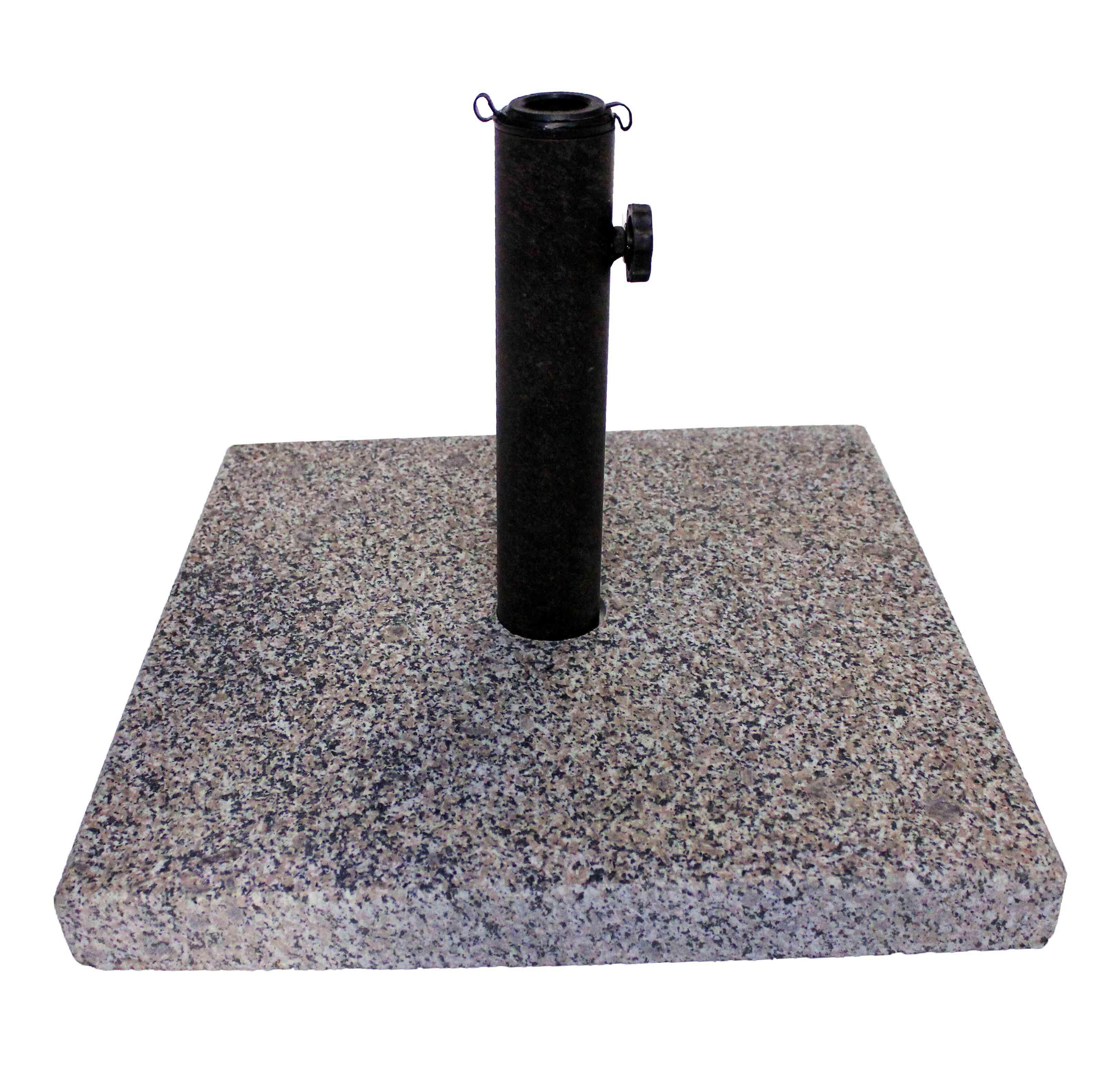 Royal Gold Granite Chris Pearly Stone Free Standing Umbrella Base