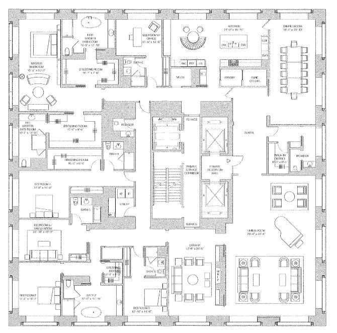full floor apartment