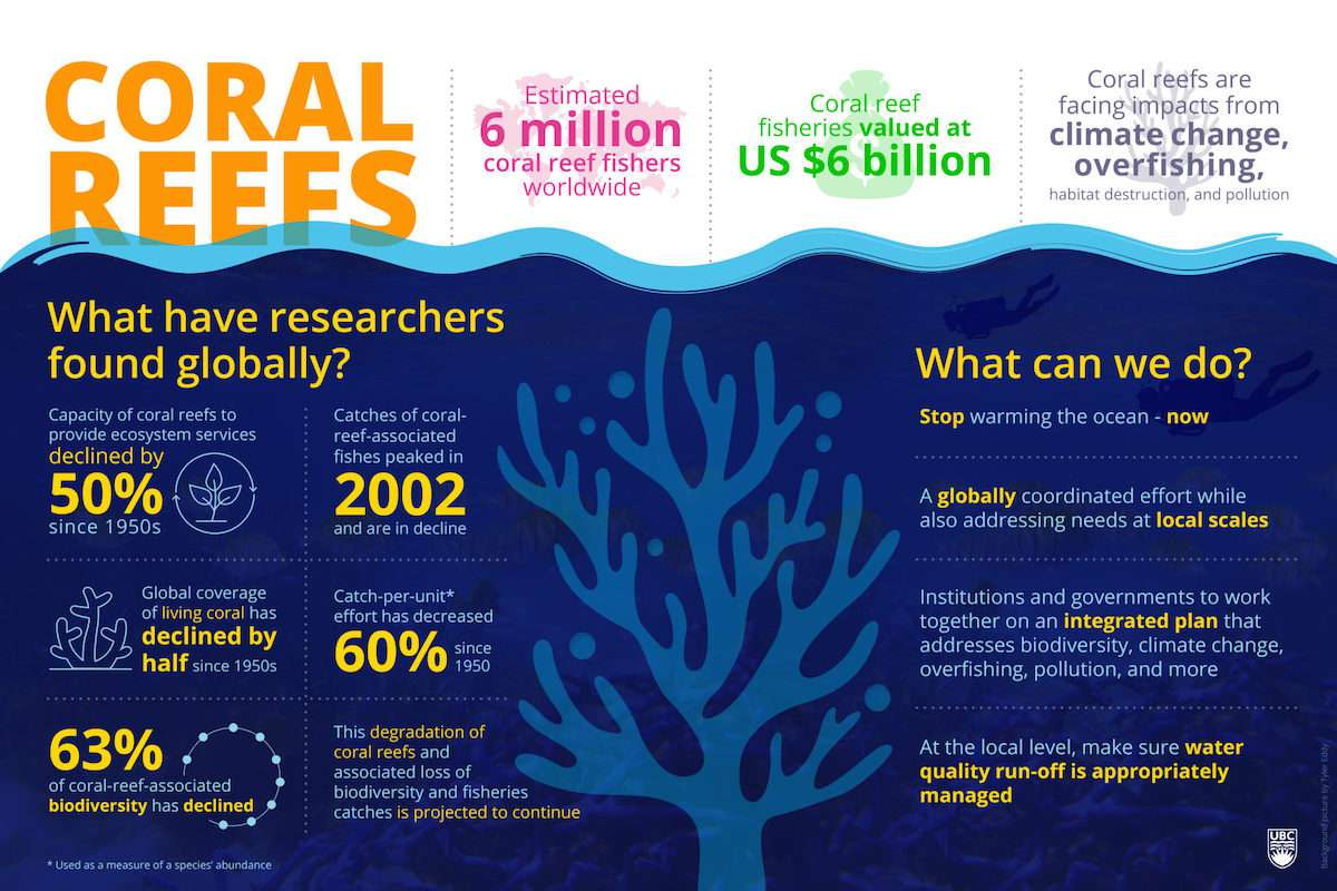 UBC Institute for the Oceans and Fisheries Infographic