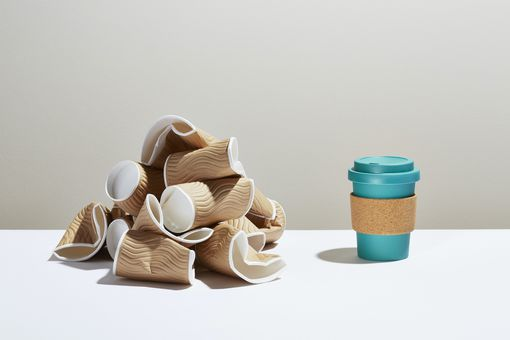 reusable coffee cup vs disposable