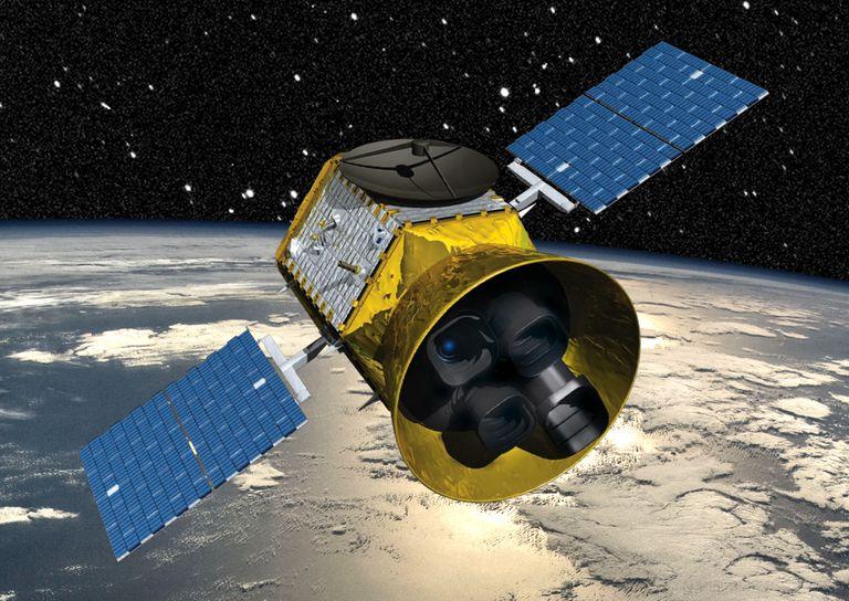 Artist rendition of Transiting Exoplanet Survey Satellite (TESS)