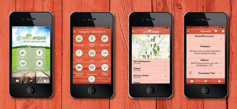 Encuentre restaurantes que sirvan comida de fuentes locales y sostenibles con esta aplicación