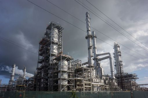 Smoke billows from petrochemical plant in Louisiana