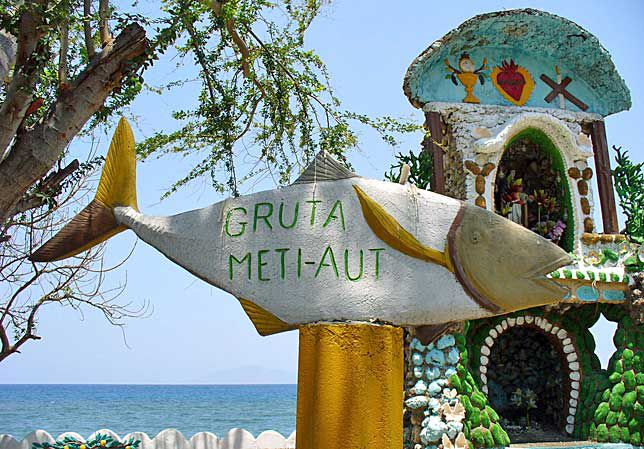 Virgin Mary altar, East Timor