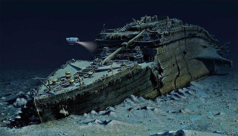 Zambúllete para ver los restos del Titanic