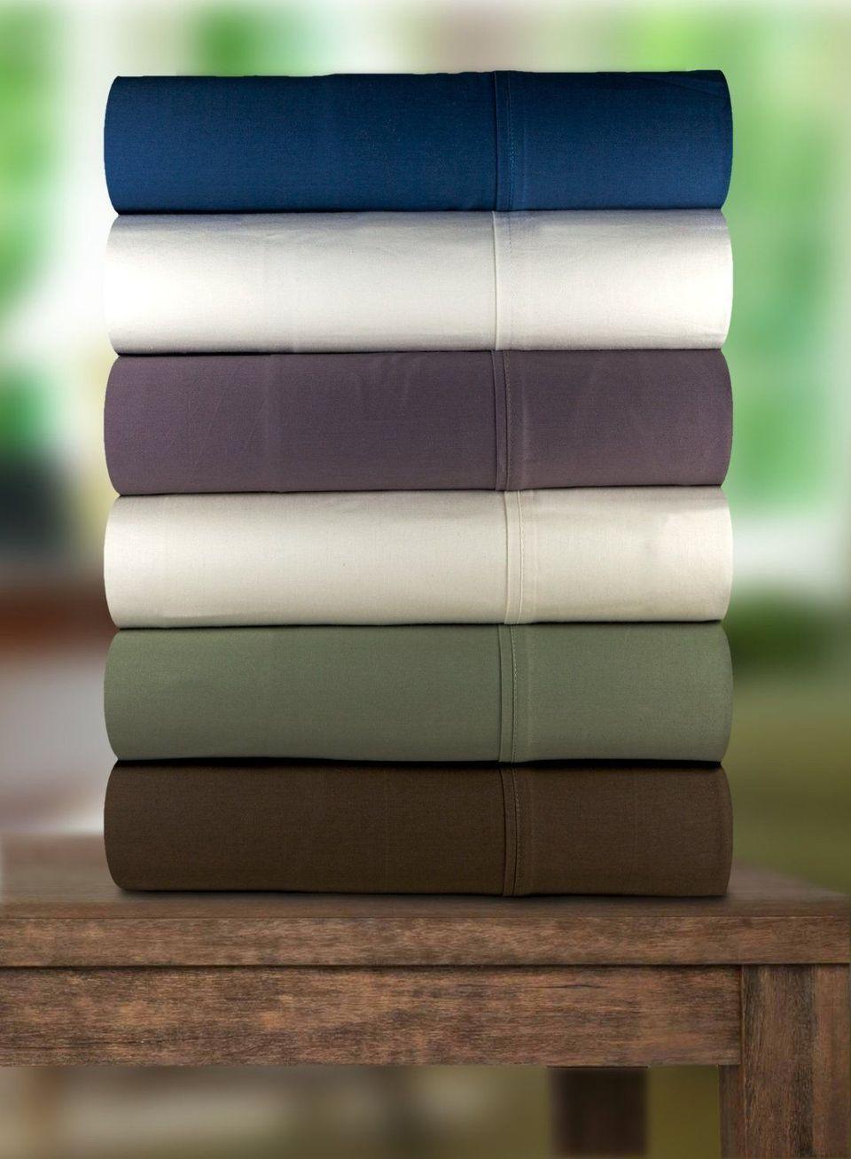 Magnolia Organics Dream Collection Sheet Set, 300 Thread Count - Queen, Natural