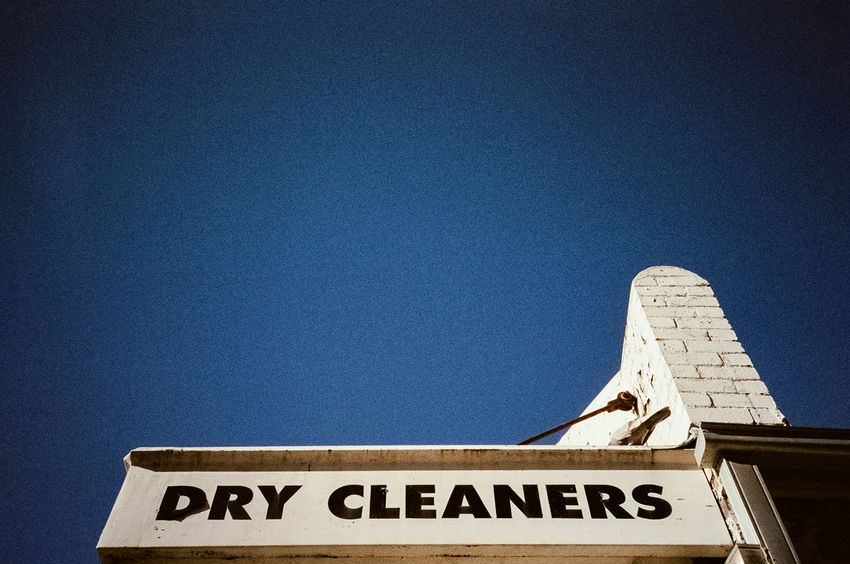 Dry Cleaners sign