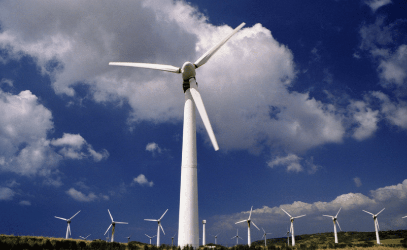 Wind farm in Hawaii