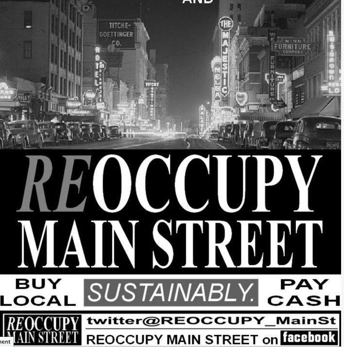 reoccupy main street