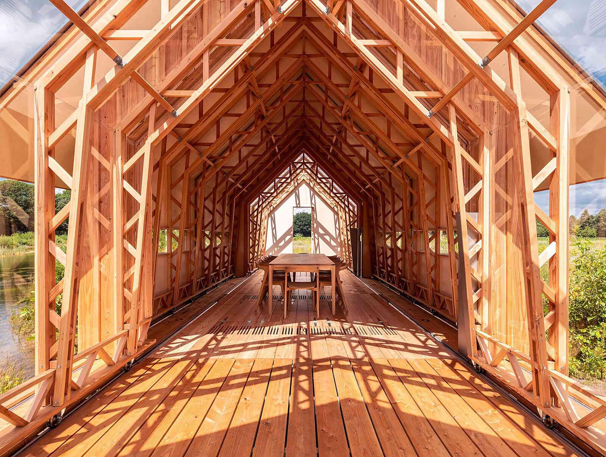 Cabin ANNA by Caspar Schols interior