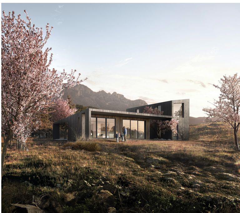 Plant Prefab presenta dos nuevos prefabricados modernos sostenibles de Koto Design