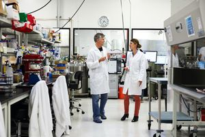 Impossible Foods lab