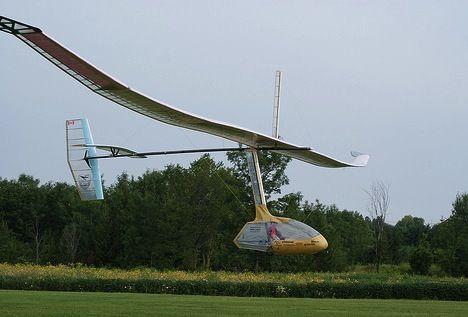 First Human Powered Flight Photo
