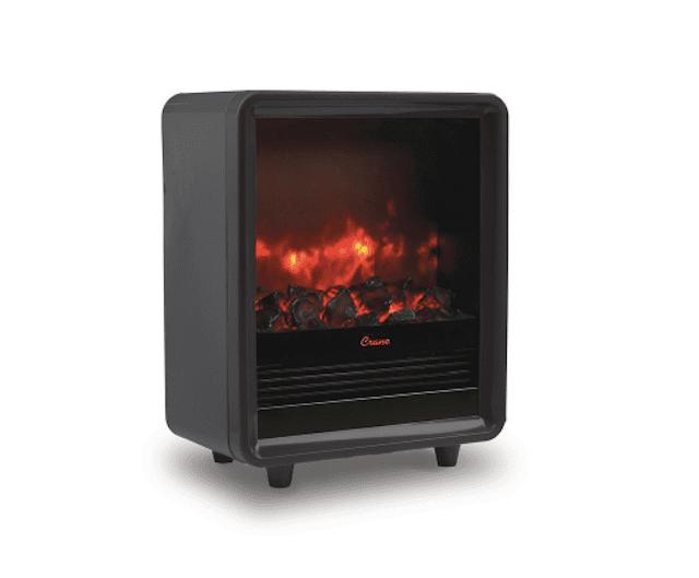 Crane 1500-Watt Electric Mini Fireplace
