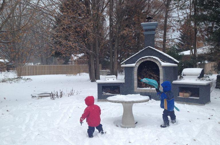 Envía a tus hijos a jugar en días salvajes, ventosos y húmedos