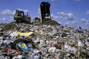 A landfill in Sussex, New Jersey.