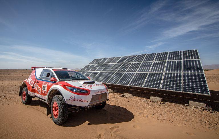 Este coche eléctrico es el primer vehículo sin emisiones en terminar el Rally Dakar
