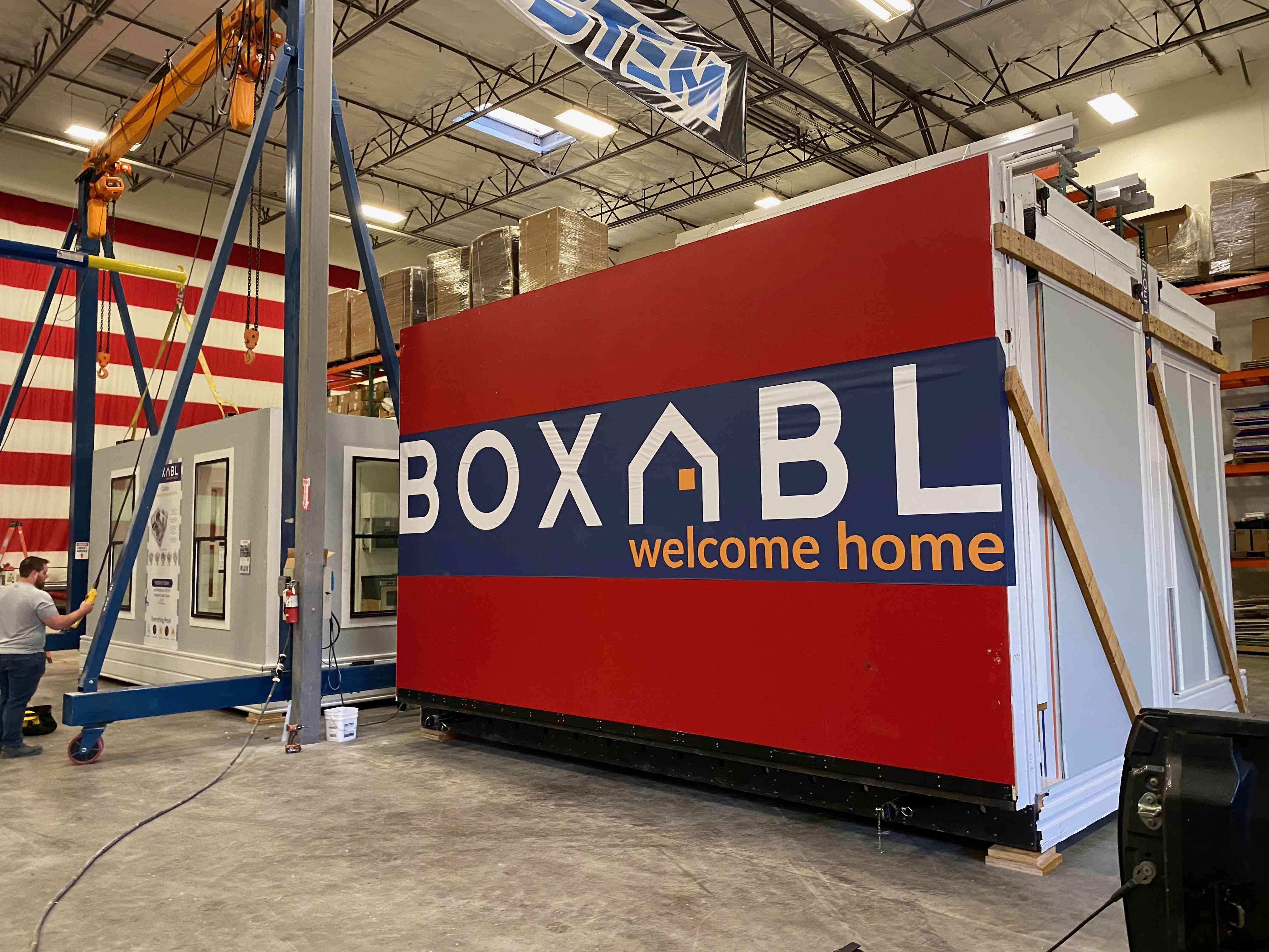 Boxabl in factory