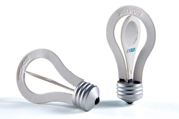 Eco Light paper lightbulb