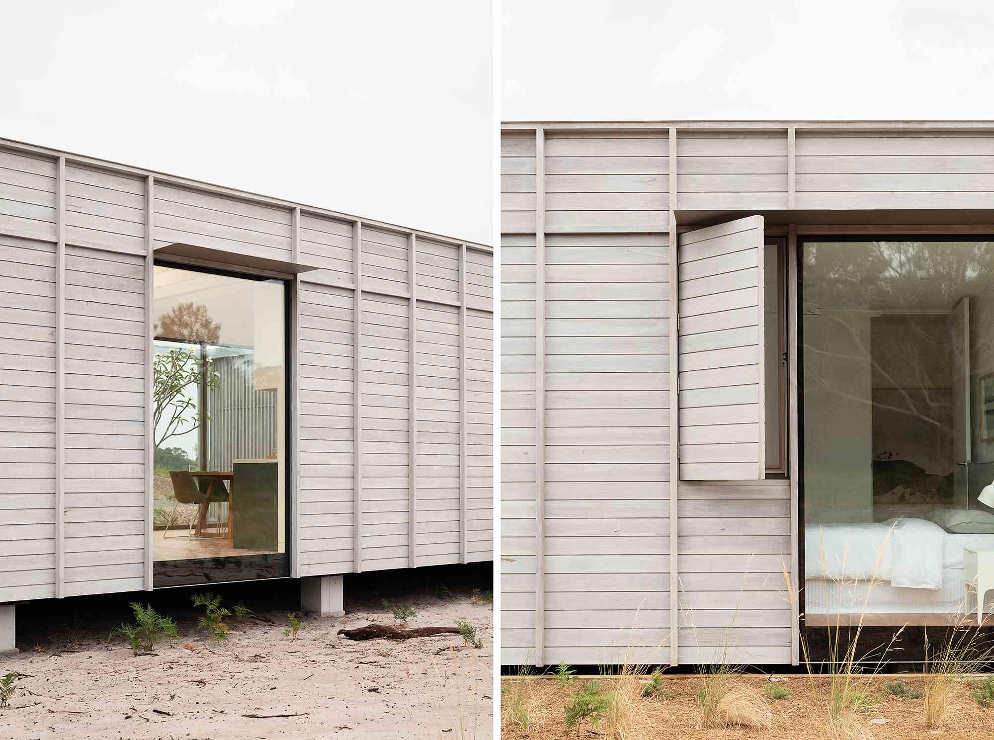 Courtyard House by CHROFI and FABPREFAB exterior