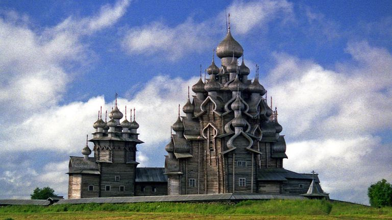 The Church of the Transfiguration at Kizhi Pogost