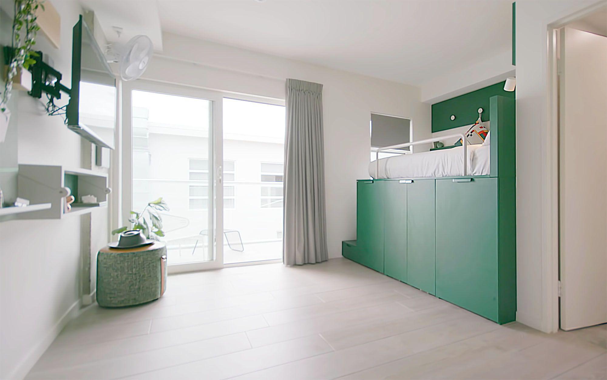 UKO stanmore coliving micro-apartment Mostaghim Associates interior