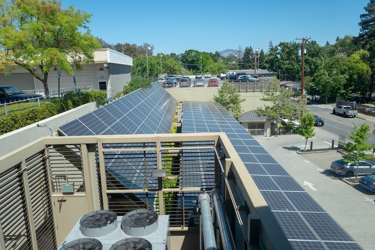 solar rooftop in california