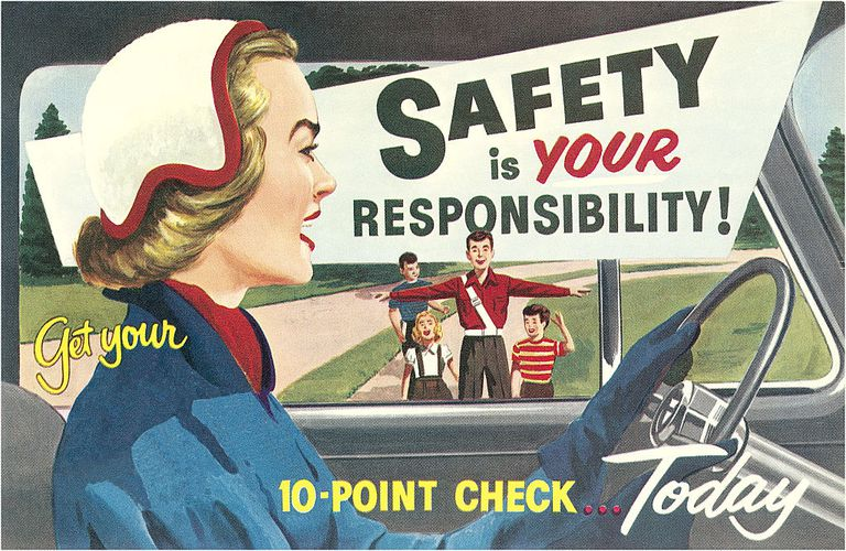 Safety is your responsbility