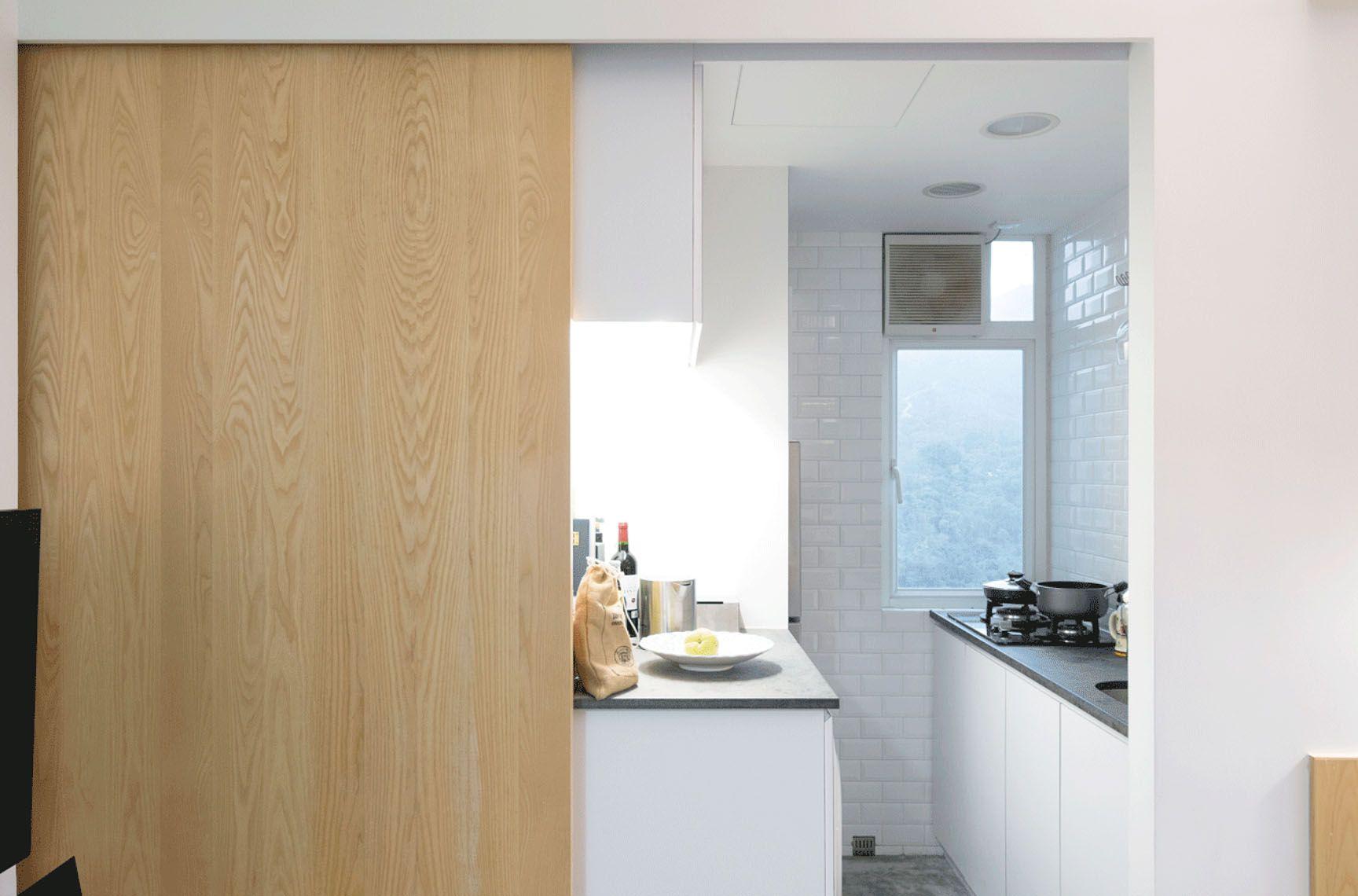 micro apartment renovation Design Eight Five Two kitchen
