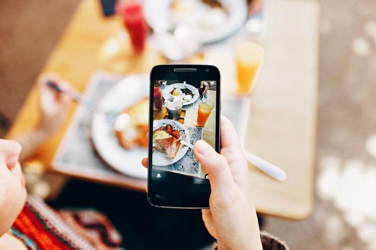 Las redes sociales influyen en lo que comes