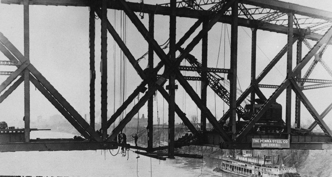 Historic photo of Harahan Bridge