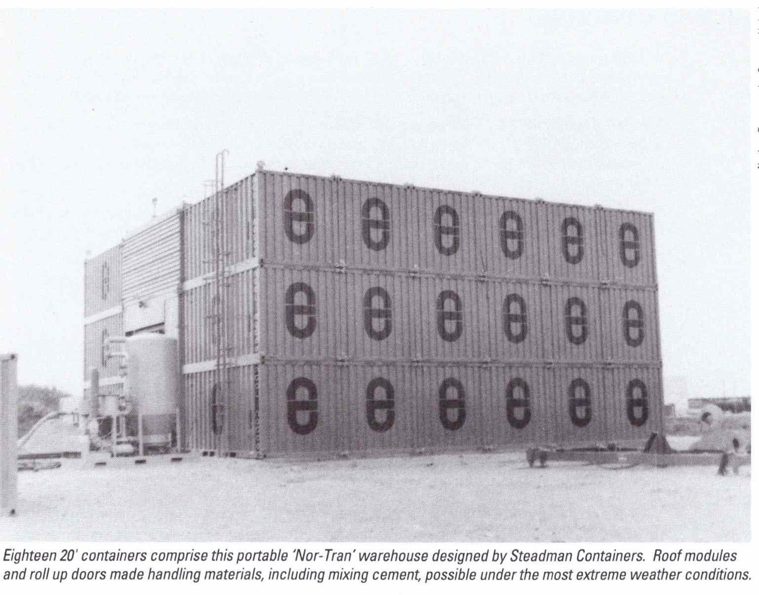 Notco shipping container building
