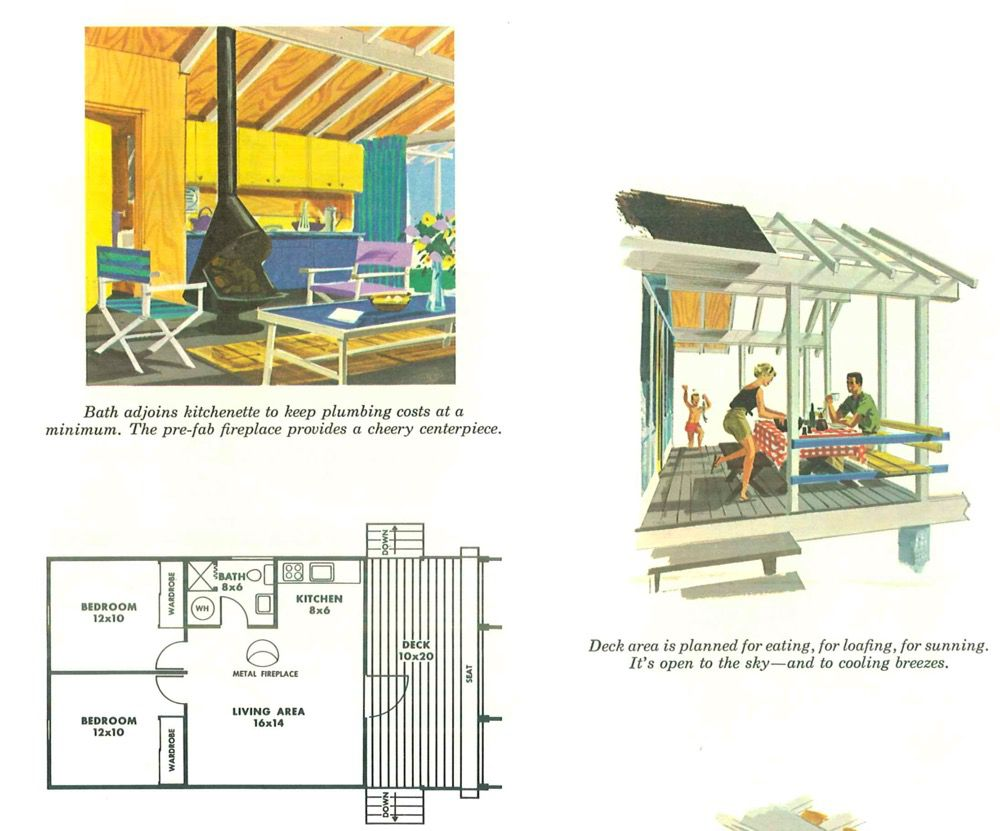Expandable house interior