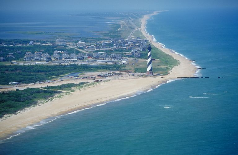 Cape Hatteras Lighthouse from the Air